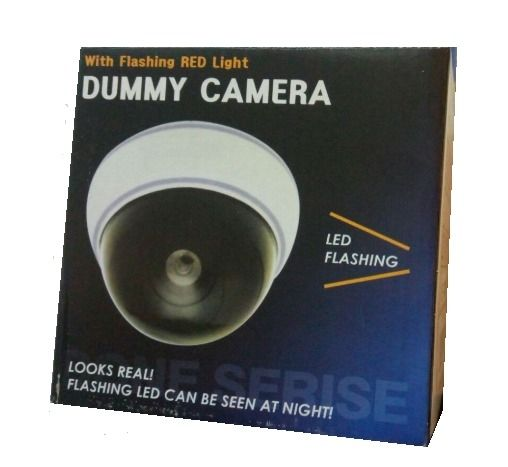 White Dome Simulated CCTV Surveillance Camera SE-CAM00