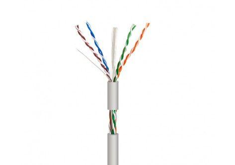 Cat 6 CCA UTP Cable Indoor PVC Gray (100m)