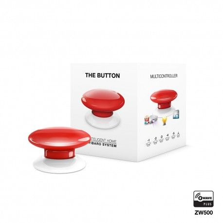 Botón rojo domótico FGPB-101-3