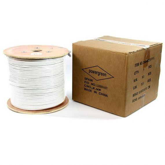 Cable UTP Cat 6 PVC Bobina Madera 305m CAB-06305-HQBU