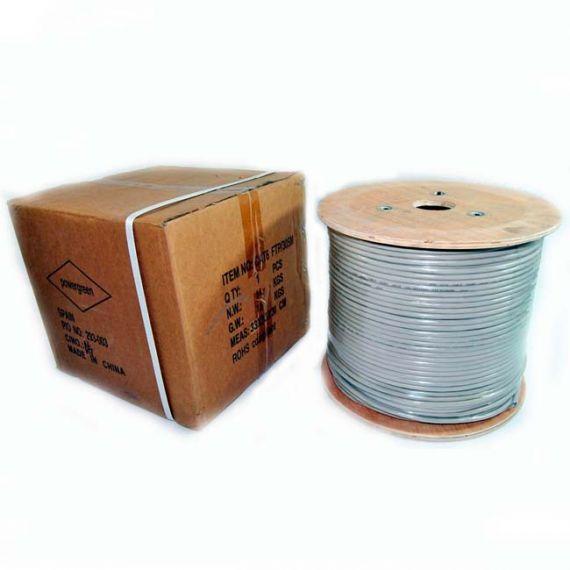 Cable UTP Cat 6 CCA PVC Powergreen CAB-06305-HQBU