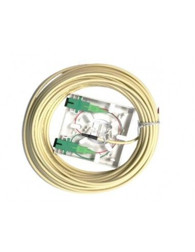 PAU FO 2 SC/APC with 25m Bitel cable