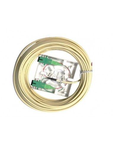 Optical UAP FO 2 outputs SC/APC + Pigtails 20m