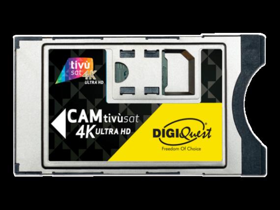 CAM Tivùsat 4K Ultra HD DIGIQuest