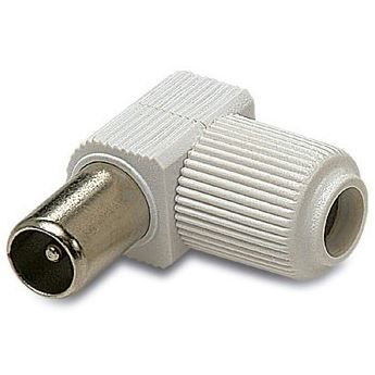Conector CEI macho color  blanco