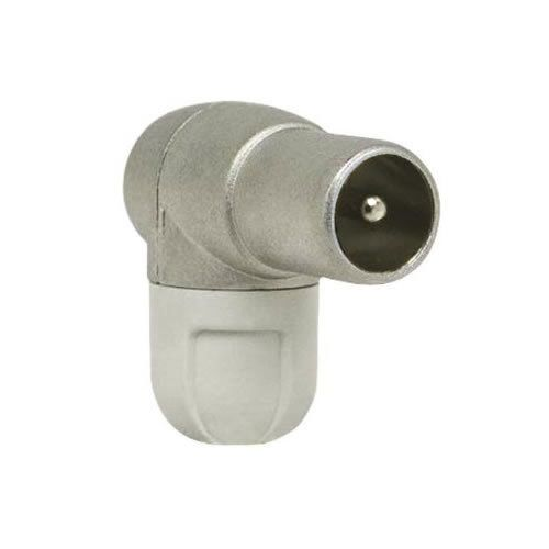Televes 4130 Elbowed mounting IEC connector with shielded for TV