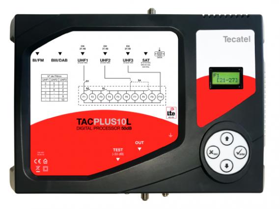 Central programable 10 filtros Tecatel 50dB + FI