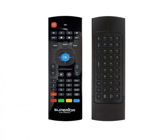Remote Control with Keyboard for Smart TV