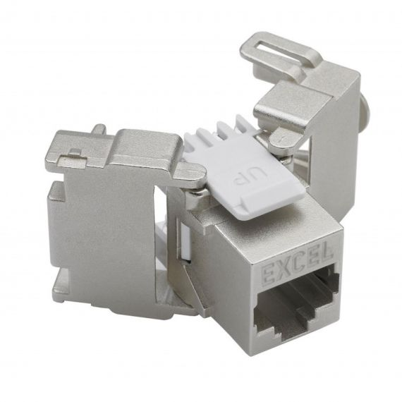 Conector RJ45 Hembra FTP CAT6 Tool-free