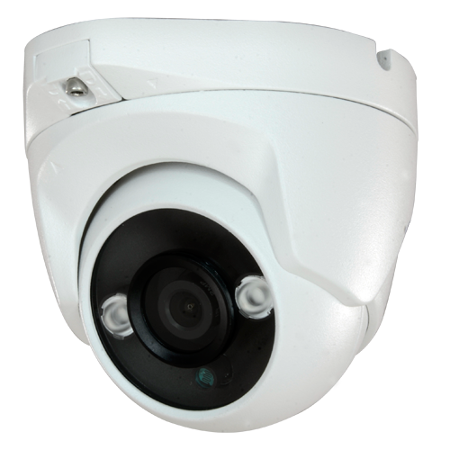 Dome camera 1080p 3.6 mm 2Leds 30m Outdoor