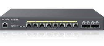 Switch ECS2512FP 8 puertos L2 con 4x10Gb SFP 240W gestión Cloud