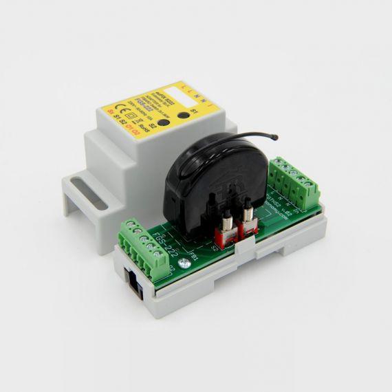 Adaptador DIN euFIX para Double Relay Switch FGS-222 de Fibaro