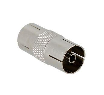 Adaptador Conector Pal H-H Metalico
