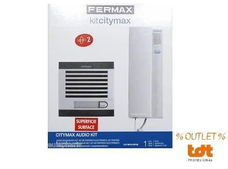 2-Wire Audio Kit CITYMAX 1 Housing Fermax 1102
