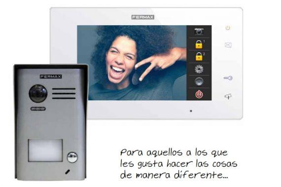 "WAY 2-wire video intercom kit with 7"" monitor 1401 Fermax"