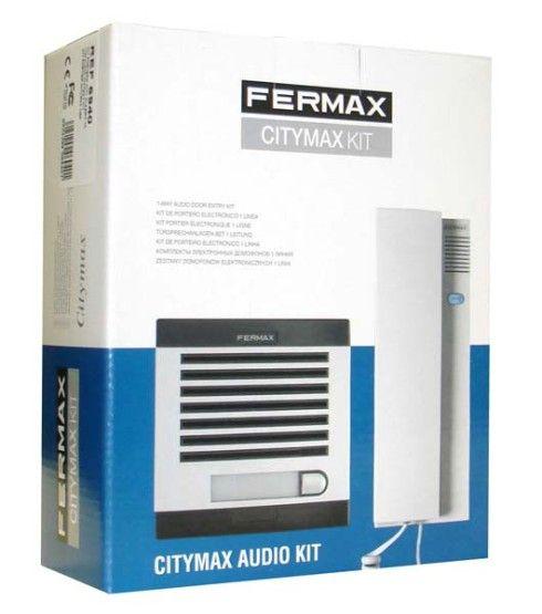 Kit Portero Citymax 4+N de 1 Vivienda Fermax 6201