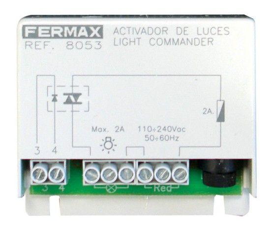 Activador de luces universal, Vista Frontal