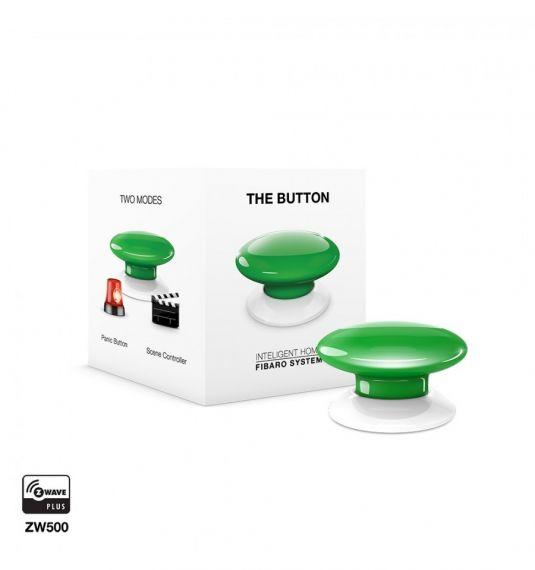 Botón verde domótico FGPB-101-5 ZW5