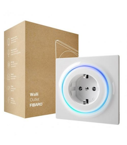 Walli Outlet Type F de Fibaro FGWOF-011