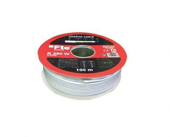 Vista bobina de cable coaxial K290