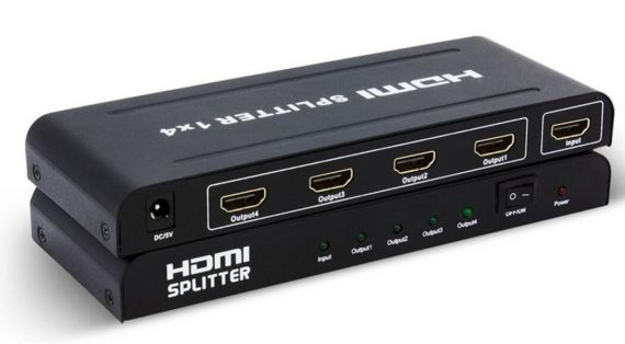 4K HDMI Splitter 1x4