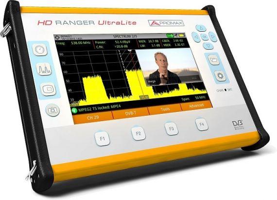 Medidor de campo Promax Ranger HD Ultra Lite