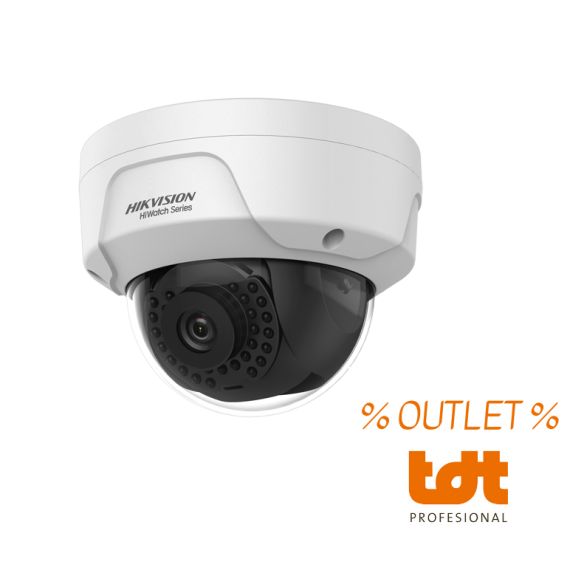 OUTLET 4MP 2.8mm Dome IP Camera IR 30m HWI-D141H