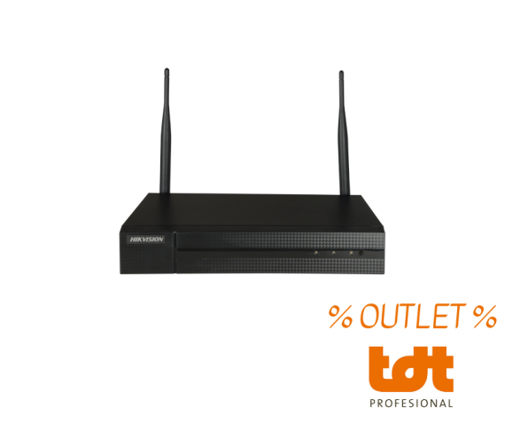 Grabador NVR 8 Canales 4MP WiFi HWN-2108MH-W