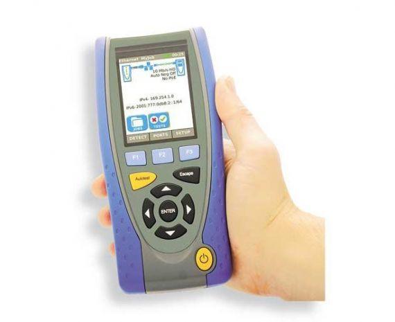Promax IC-075C Cualificador de Redes de Datos y Fibra Óptica