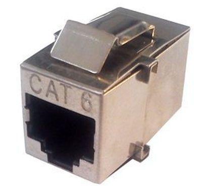 Conector RJ45 FTP Hembra - Hembra Cat.6
