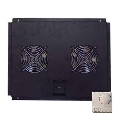 Ventilación con termostato para racks de 600mm frontal