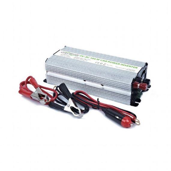 Inversor Autocaravana 12VDC - 230VAC 500W 1 Schuko + USB
