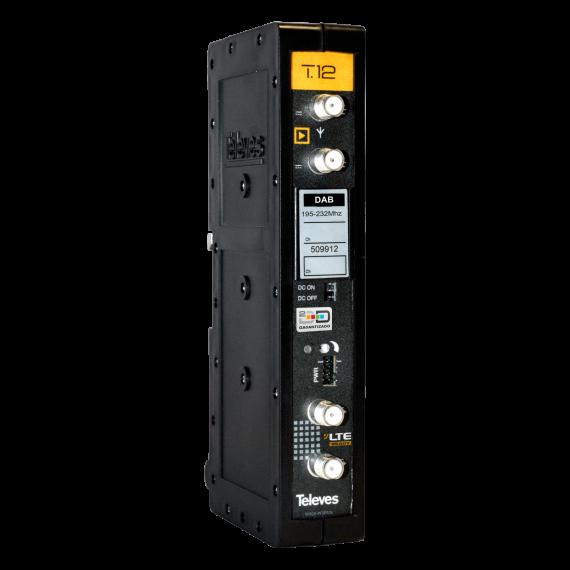 Amplificador Monocanal T12 DAB 45dB Televes 509912