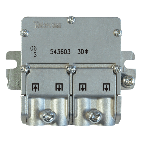 Mini-distributor 3 outputs EasyF Televes 543603