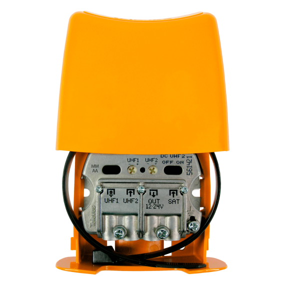 Amplificador Mástil UHF-UHF-FImix LTE 5G Televes 561421