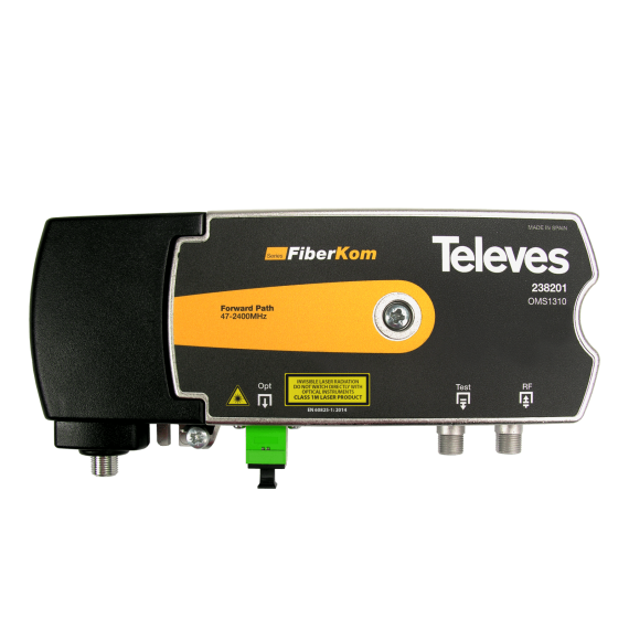 Televes FiberKom 238201 Optical Transmitter
