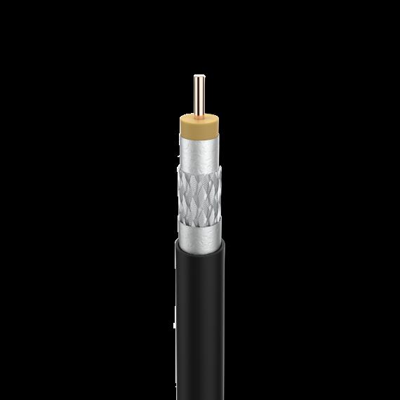 Cable Coaxial Cu/Cu Clase A+ Dca Exterior Televes 414002