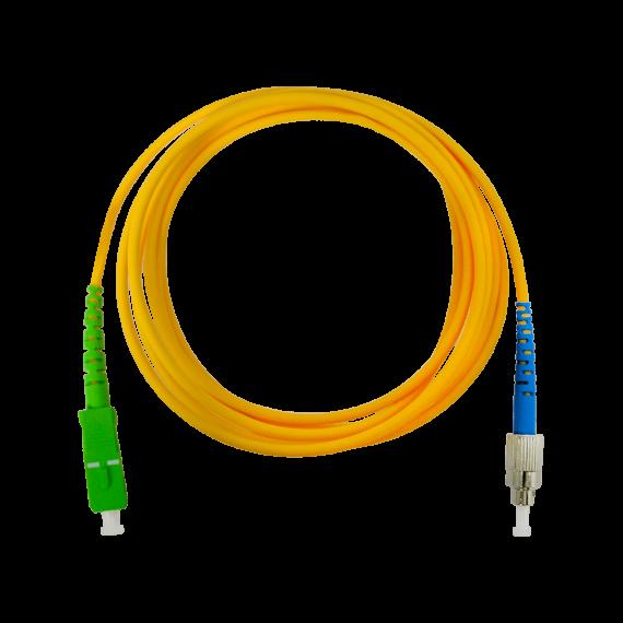 Patch cord FO 2m SC/APC - FC/UPC Televes 232624