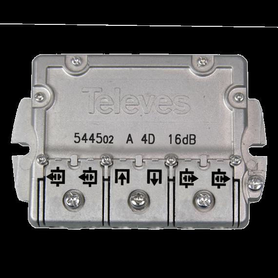 4-way flange tap (16 dB)