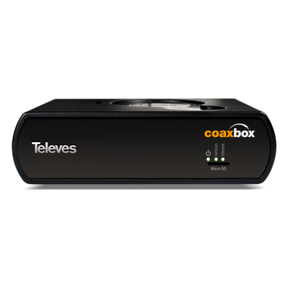 Coaxbox device for network management Coaxdata