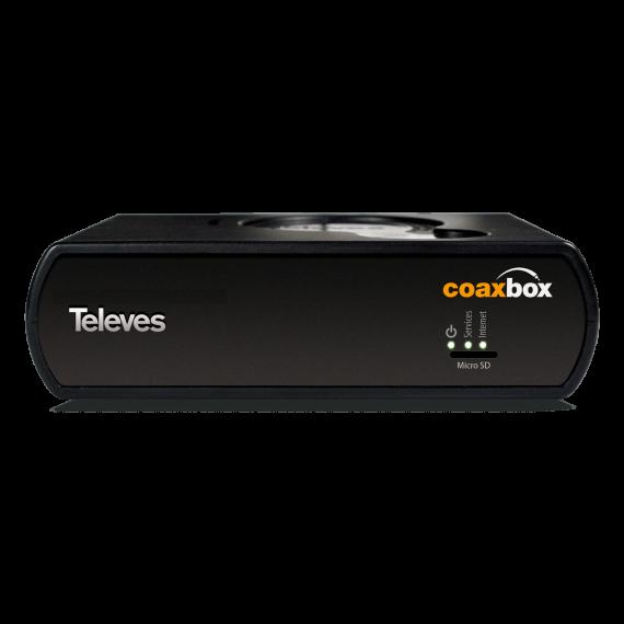 Dispositivo Coaxbox para gestión de red Coaxdata