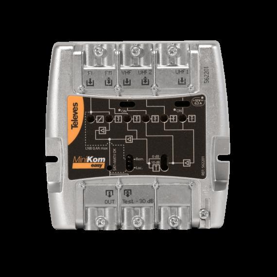 Broadband Amplifier SAT MiniKom 562201 Televes
