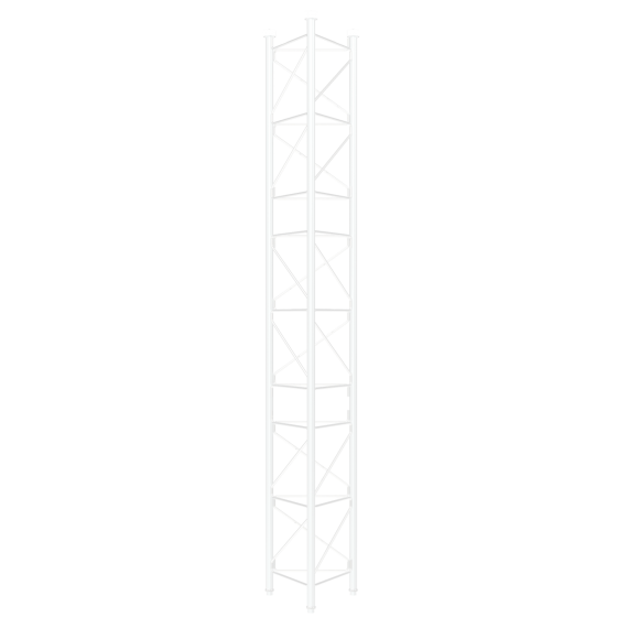Torre 450 Tramo Intermedio 3m Blanco Televes 313101