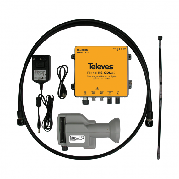Kit de LNB óptico 236810 de Televes