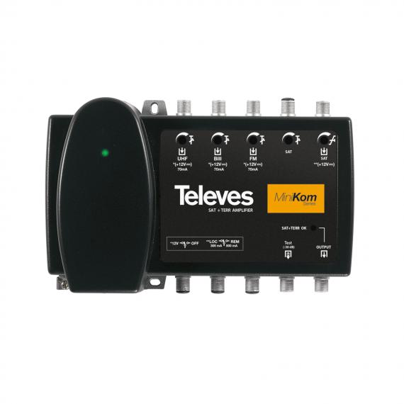 Central MiniKom FM-BIII-UHF-FI LTE 5G Televes 539620