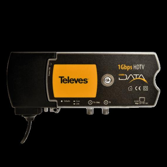 CoaxData 1 puerto Gigabit Ethernet Televes 769203