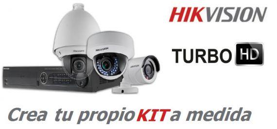 Kit de 4 cámaras de vigilancia