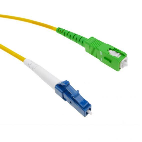 single mode fiber optic 2m LC/UPC -SC/APC