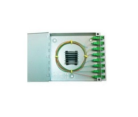 Metal Wall Box of 8 Fibers SC Sx Bitel L/OMXBOX8