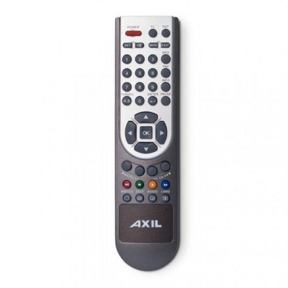 Mando a Distancia Universal 2 en 1 TV+TDT Axil